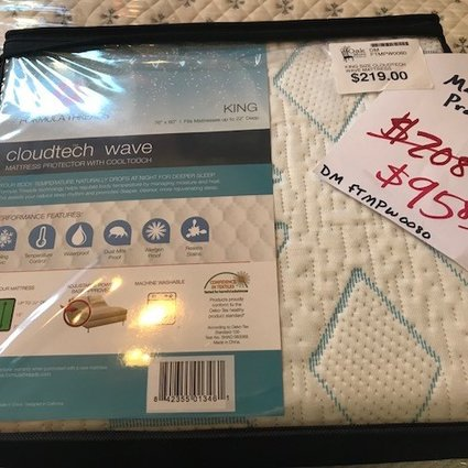 MATTRESS KING SIZE CLOUDTECH WAVE MATTRESS PROTECTOR