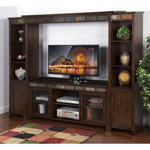 "ENTERTAINMENT SANTA FE 60"" TV CONSOLE"