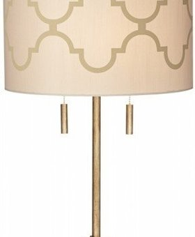 LIGHTING TABLE LAMP MOROCCAN SILK