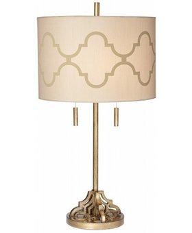 LIGHTING TABLE LAMP MOROCCAN SILK