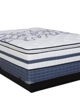 MATTRESS HOLIDAY PLUSH PILLOW TOP MATTRESS EASTERN KING