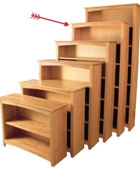 BOOKCASE Solid Alder Bookcase