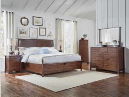BEDROOM SODO DRESSER WHISKEY BROWN FINISH