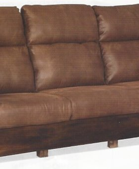 UPHOLSTERED SEDONA STATIONARY SOFA    LAST ONE!