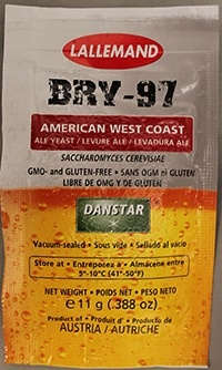 LALLEMAND LALLEMAND BRY-97 WEST COAST ALE BREWING YEAST 11 GRAM