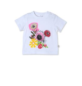 STELLA MCCARTNEY Stella McCartney baby girl floral tee