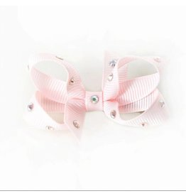 OLILIA Olilia Small Bow With Crystals
