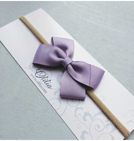 OLILIA Olilia - london bow stretchy hairband small