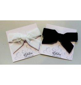 OLILIA Olilia -Velvet bow hair clip