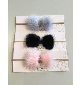 OLILIA Olilia - Mink Bow Hairband
