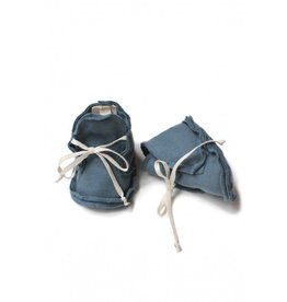 Gray Label Gray Label Baby Raw Edged Booties