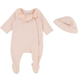 Chloé Chloe Onesie and Hat Set