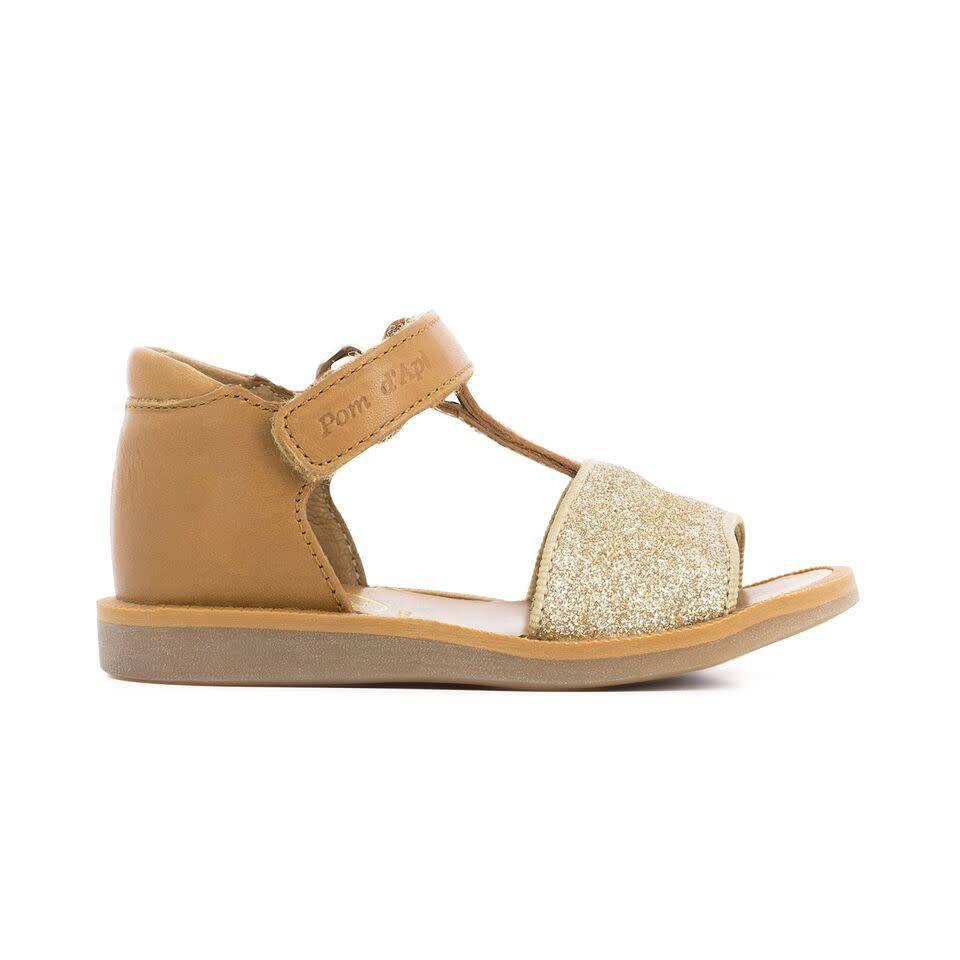 Sale - Tao Easy Glitter Poppy Leather Sandals - Pom dApi Pom dApi 6OLmeCLIg