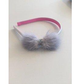 OLILIA Olilia  Mink bow hairband