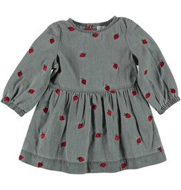 STELLA MCCARTNEY Stella McCartney BABY GIRL LADY BUG DENIM LS DRESS