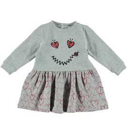 STELLA MCCARTNEY Stella McCartney BABY GIRL LS DRESS W/ SMILE LADY BUG FACE
