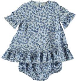 STELLA MCCARTNEY Stella McCartney BABY GIRL STAR PRINT DRESS AND BLOOMER SET