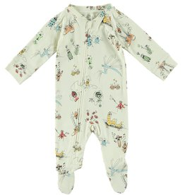 STELLA MCCARTNEY Stella McCartney ALL OVER INSECT PRINT FOOTIE