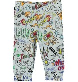 STELLA MCCARTNEY Stella McCartney BABY UNISEX ALL OVER GRAFFITI PRINT LEGGING
