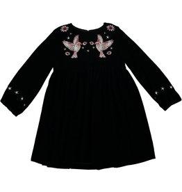 STELLA MCCARTNEY Stella McCartney GIRLS EMBROIDERED VELVET DRESS