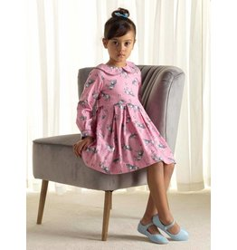 Rachel Riley H18 Pony Flannel dress