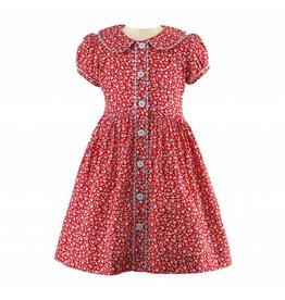 Rachel Riley H18 Floral Button front dress