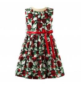 Rachel Riley H18 Rose Pleated dress