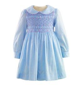 Rachel Riley H18 Flower smocked dress
