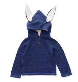 Oeuf H18 bunny hooded sweater