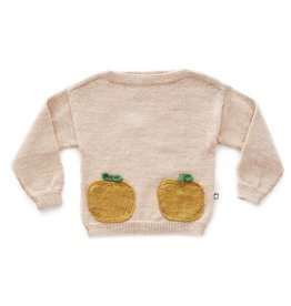 Oeuf H18 apple pocket sweater