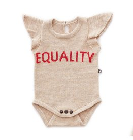 Oeuf H18 equality onesie