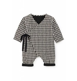 LITTLE CREATIVE FACTORY Little Creative Factory Baby Checked Quilted Overall