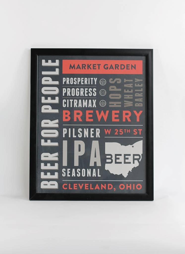 BEER FOR PEOPLE ART PRINT