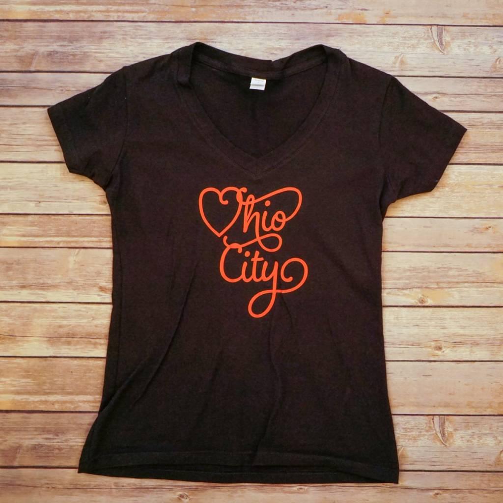 HEART OHIO CITY W T-SHIRT