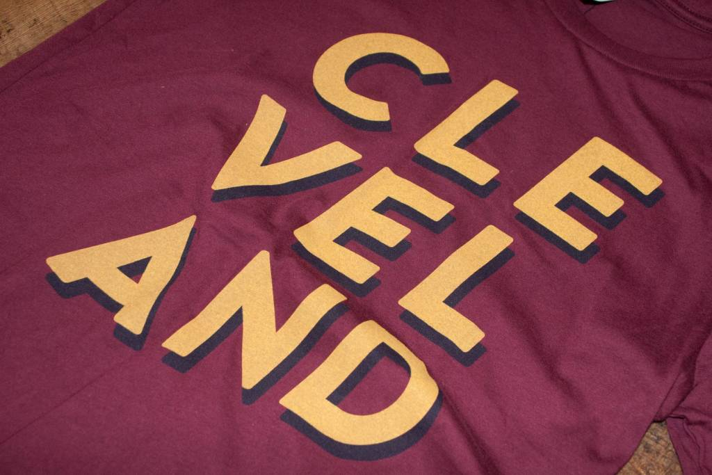 CLE-VEL-AND T-shirt Tri-blend
