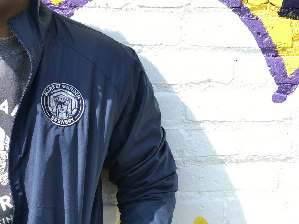 MGB Navy Windbreaker