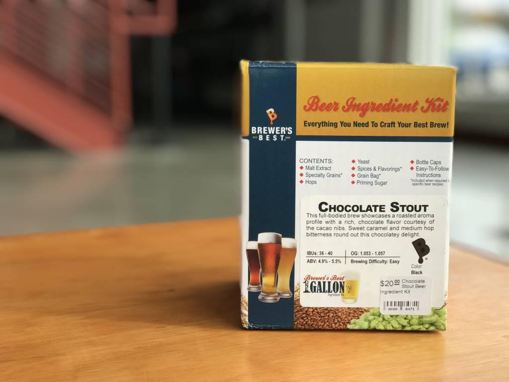Chocolate Stout Beer Ingredient Kit