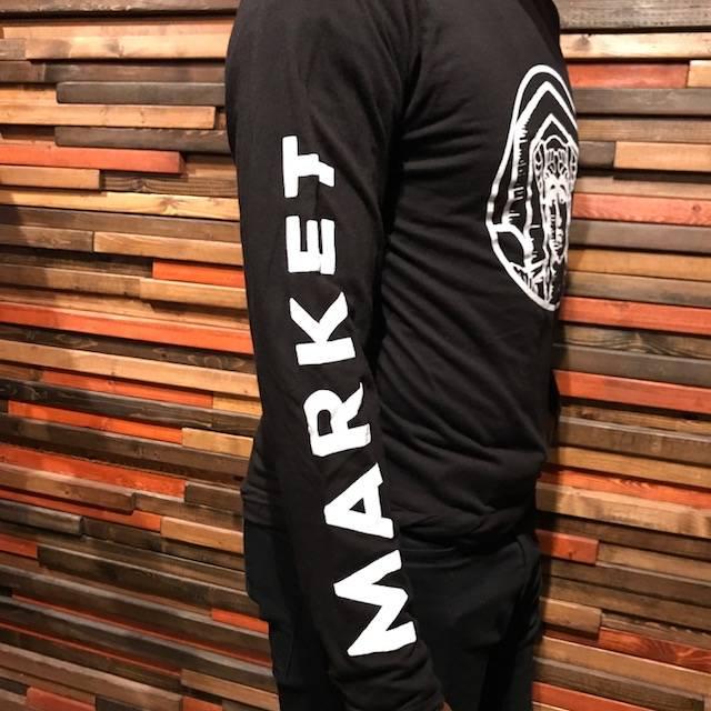 Black and White Market Garden Long Sleeve
