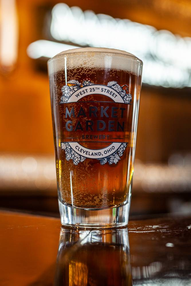 MGB 14 oz. Pint Glass