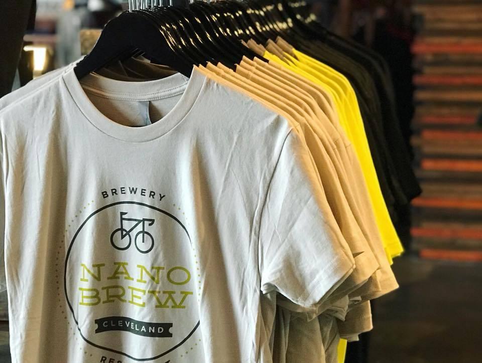Nano Brew Circle Logo T-Shirt