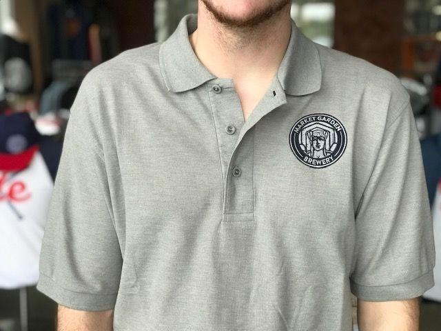 MGB Circle Badge Polo, Grey
