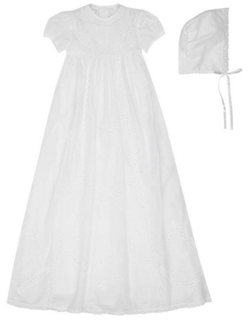 Victoria Christening Gown & Hat Set - Doodle & Stinker Children\'s ...