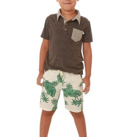 Fore Axel & Hudson Charcoal Polo