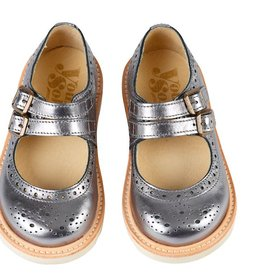 Young Soles Lou Lou Pewter Shoe