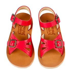 Young Soles Red Sandal