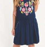 Imoga Sam Floral Navy Dress
