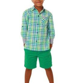Fore Axel & Hudson Green Check Shirt