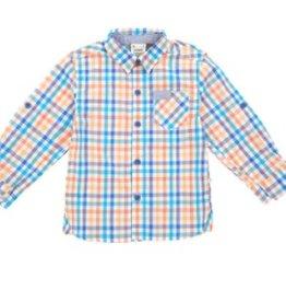 Fore Axel & Hudson Orange Check Shirt