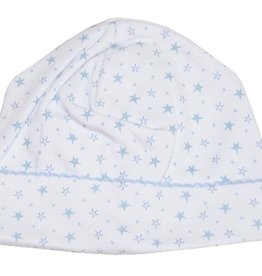 Kissy Kissy Hearts & Stars Blue Hat