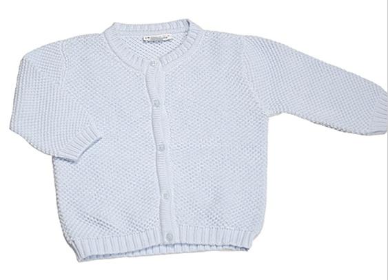 Lt Blue Knit Cardigan